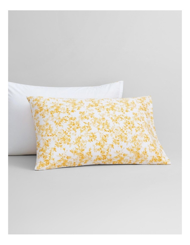Naves Bed Cover In Mango image 3