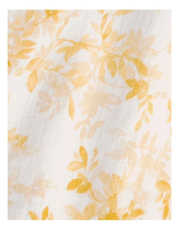 Naves Bed Cover In Mango image 4