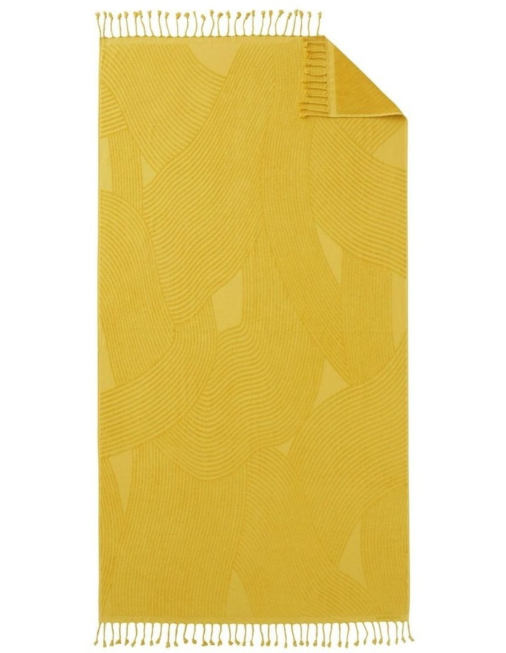 Northcove Beach Towel In Pineapple image 1