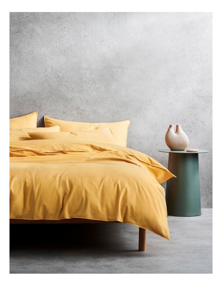 Onslo Bed Linen Collection in Amber image 1