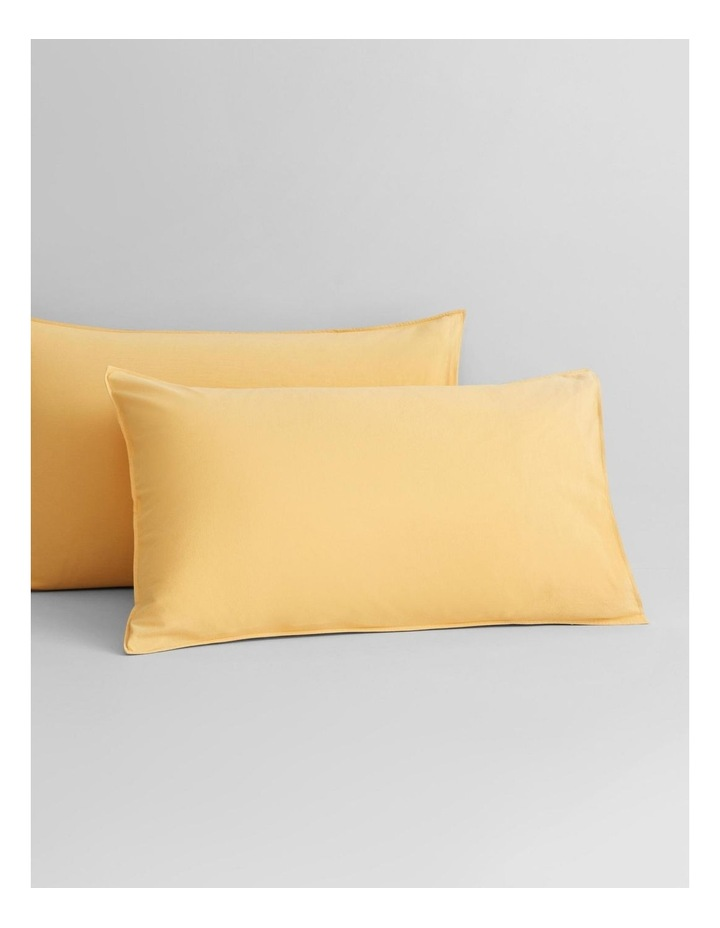 Onslo Bed Linen Collection in Amber image 2
