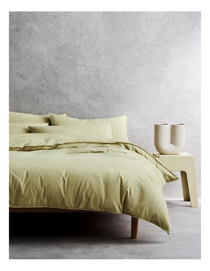 Onslo Bed Linen Collection in Asparagus image 1
