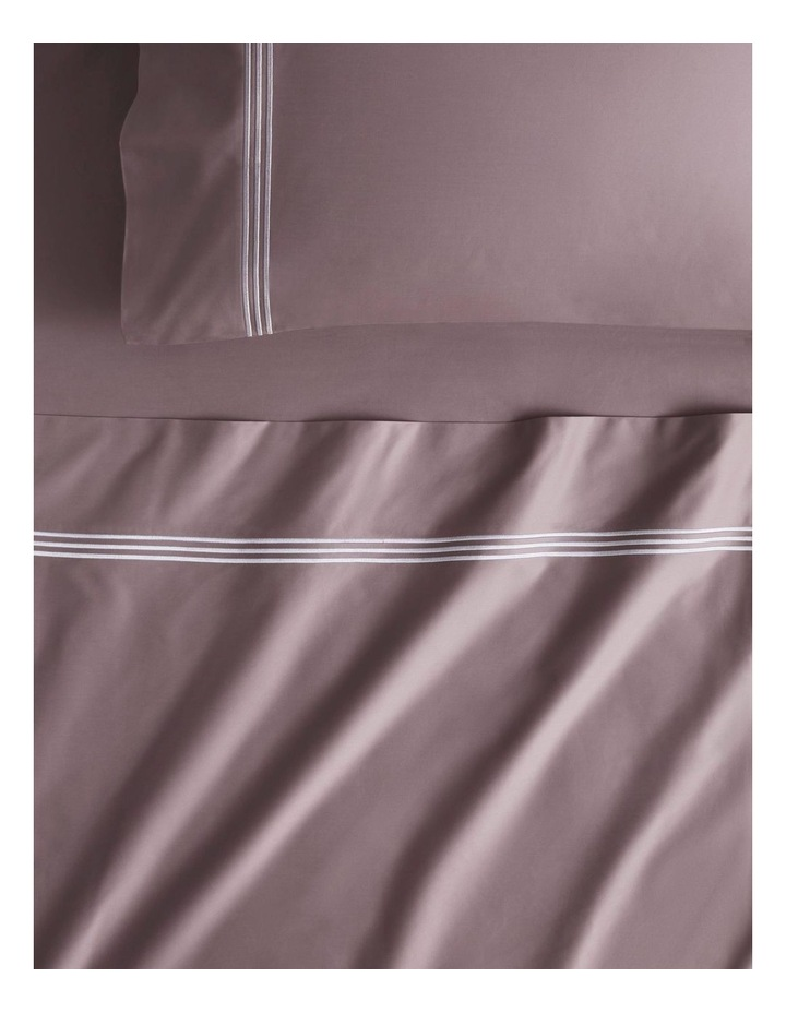 Palais Lux 50cm Fitted Sheet in Fig image 1
