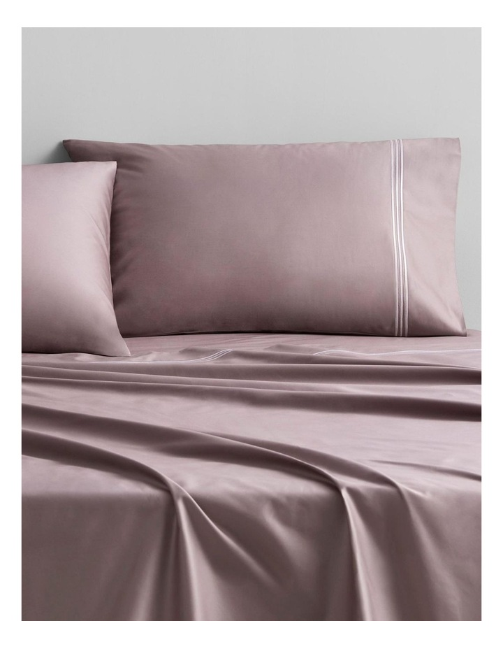 Palais Lux 50cm Fitted Sheet in Fig image 2