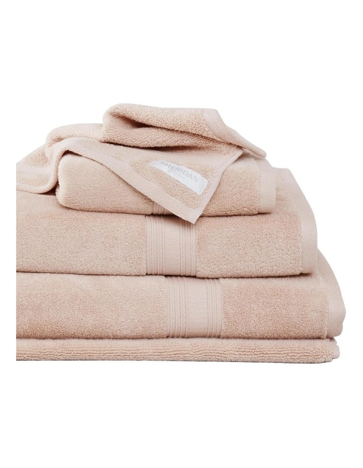Quick Dry Luxury Towel Collection in Peach image 1