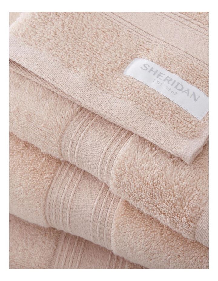 Quick Dry Luxury Towel Collection in Peach image 2