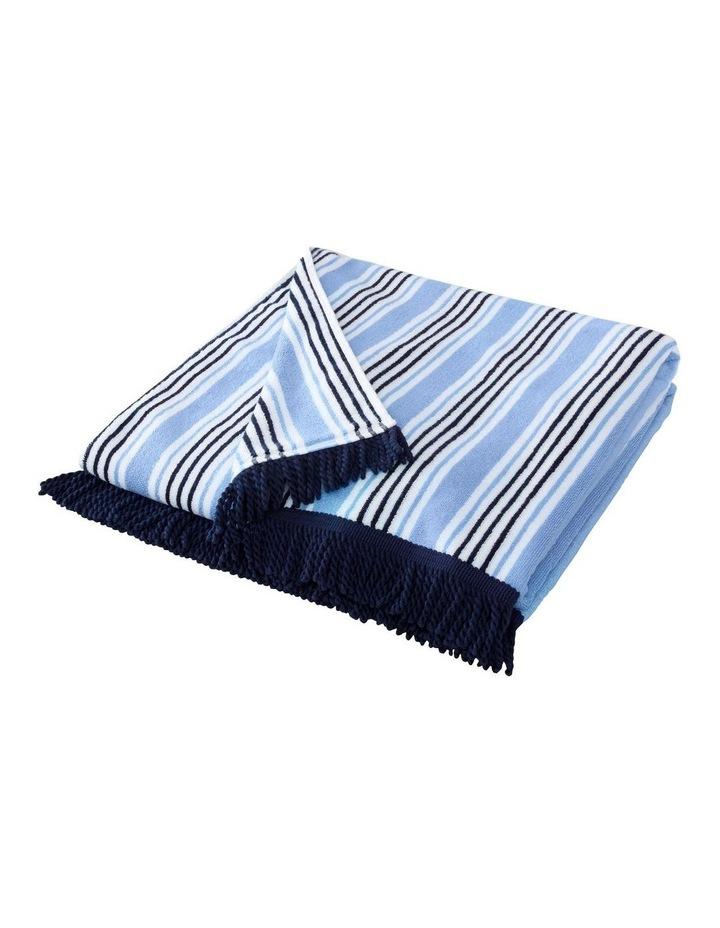 Seabay Beach Towel In Polar Blue image 2