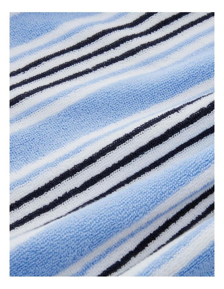 Seabay Beach Towel In Polar Blue image 3