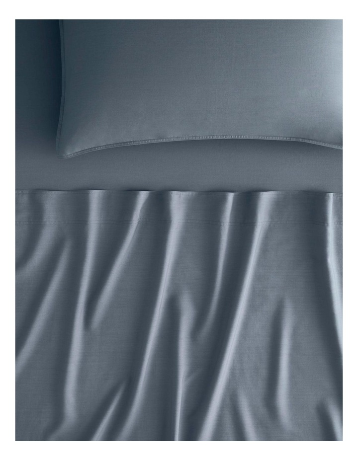 Supersoft Lyocell Linen Sheet Set Collection in Bluebird image 1