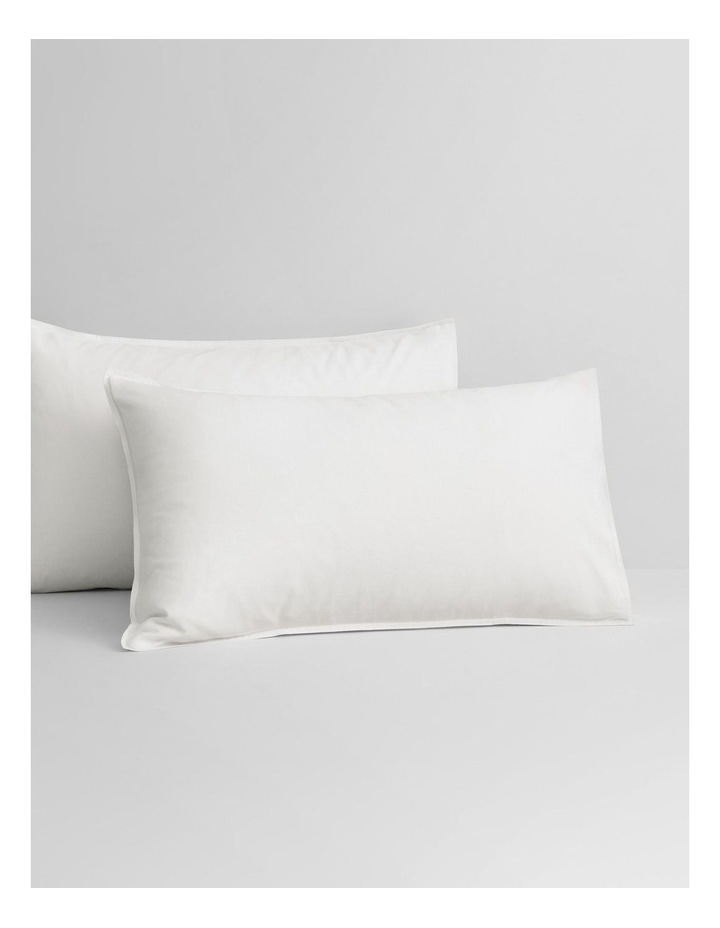 Supersoft Lyocell Linen Sheet Set Collection in White image 3