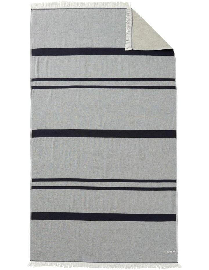 Tropicolo Beach Towel In Carbon image 1