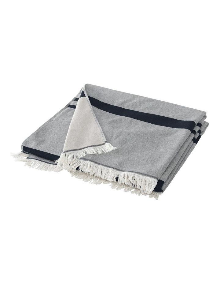 Tropicolo Beach Towel In Carbon image 2