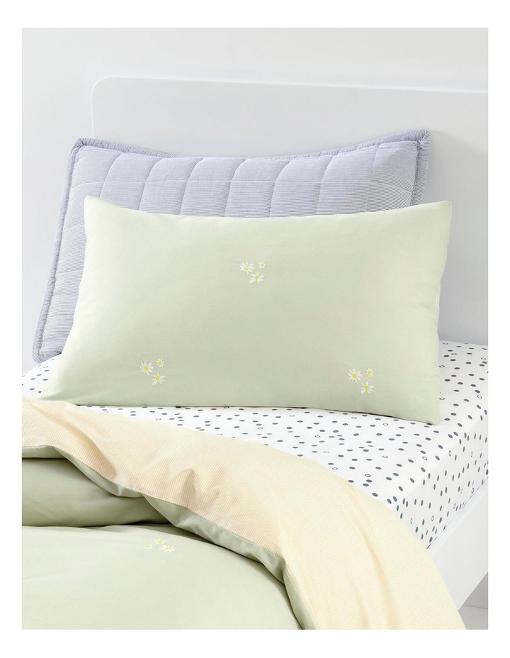 Daisies Bed Linen Collection in Soft Green image 1