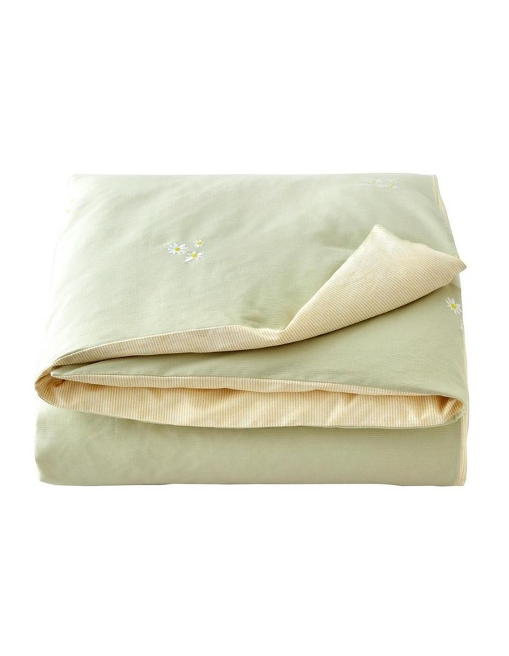 Daisies Bed Linen Collection in Soft Green image 3