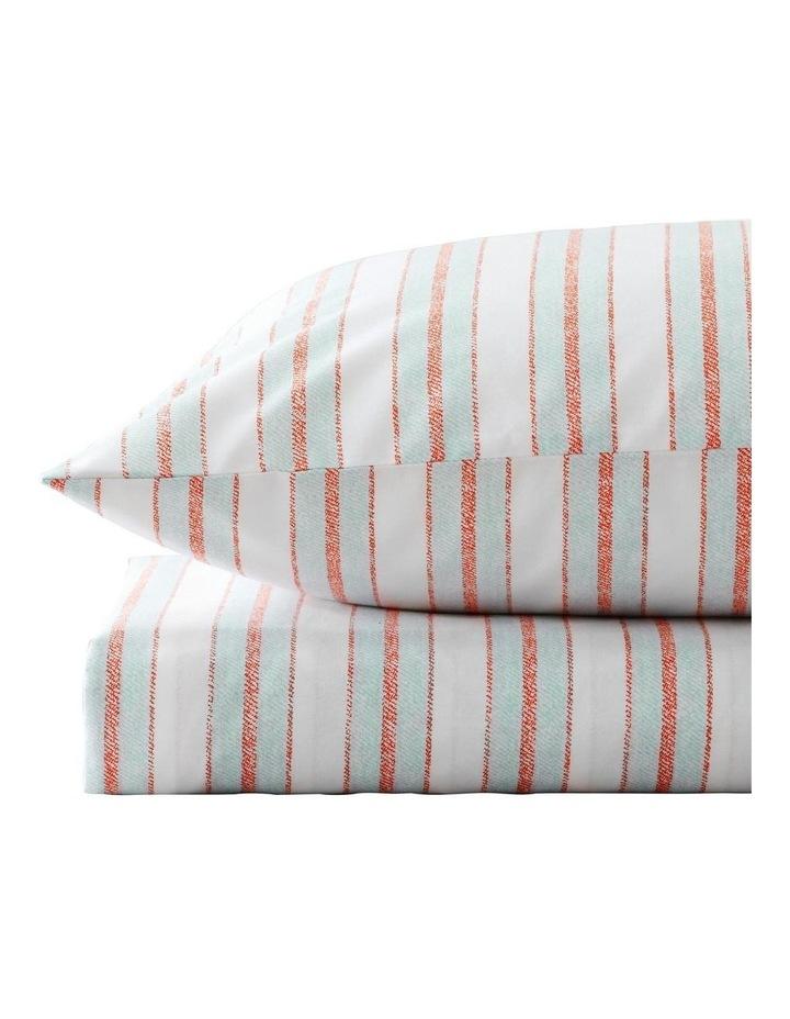 Ace Stripe Sheet Set in Mint image 2