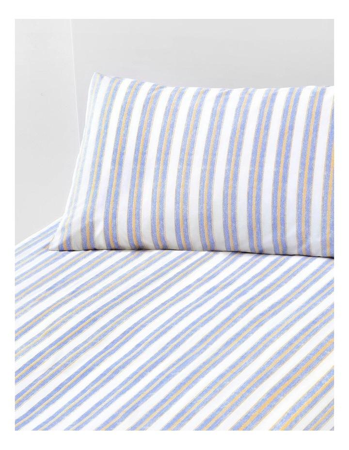 Ace Stripe Sheet Set in Seaspray image 1