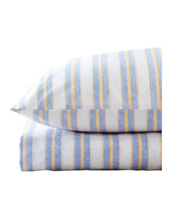 Ace Stripe Sheet Set in Seaspray image 2