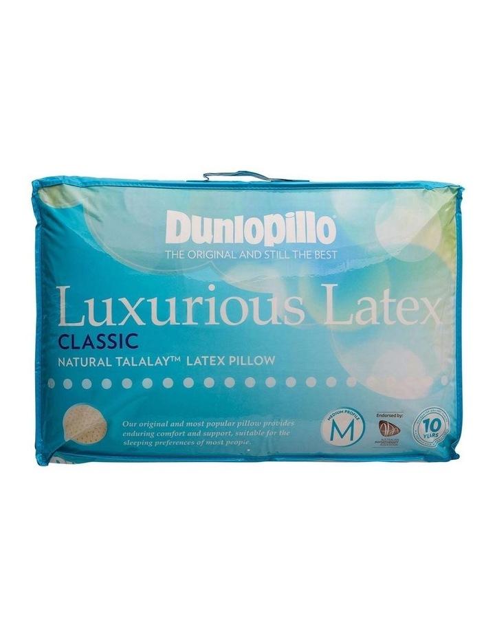Luxurious Latex Pillow - Classic, Medium Profile & Feel image 1
