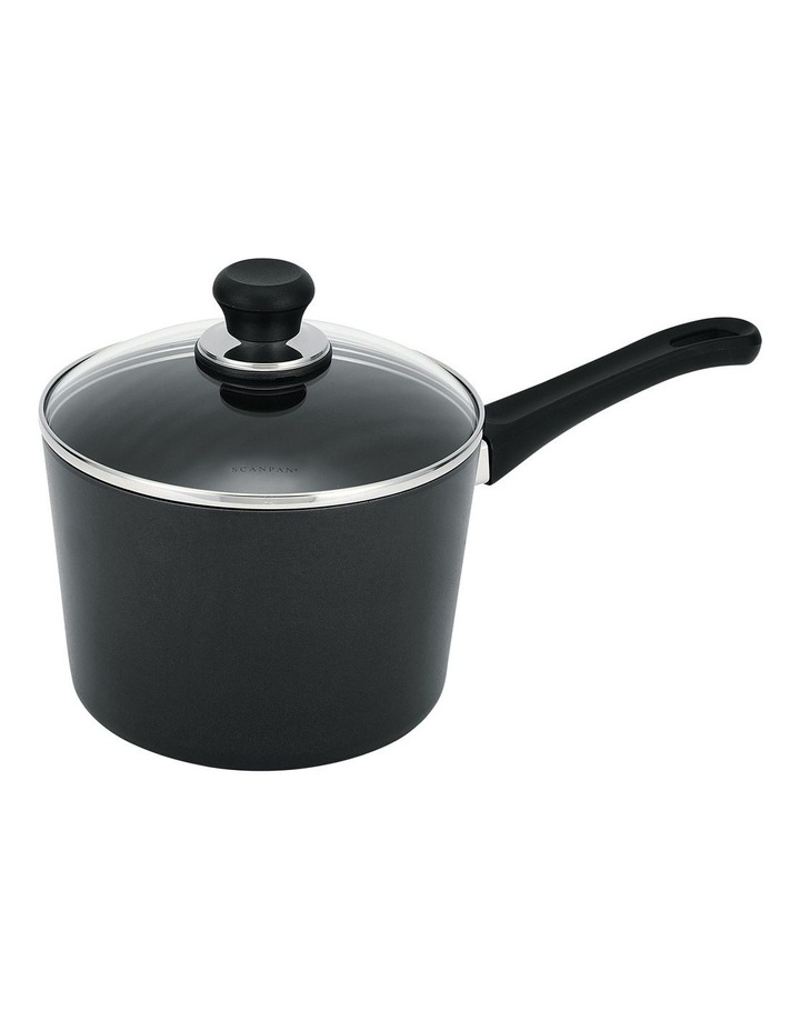Classic Induction 20cm/3 Litre Saucepan in Black image 1