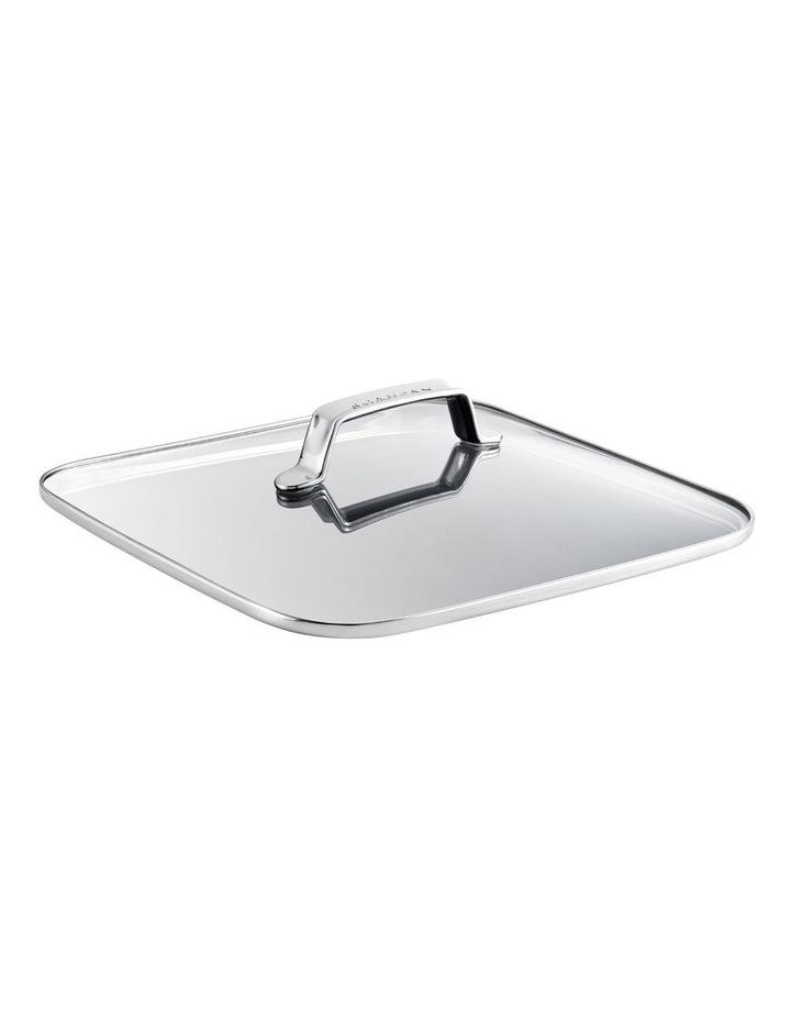 TechnIQ 28x28cm Roaster Tempered Glass Lid image 1