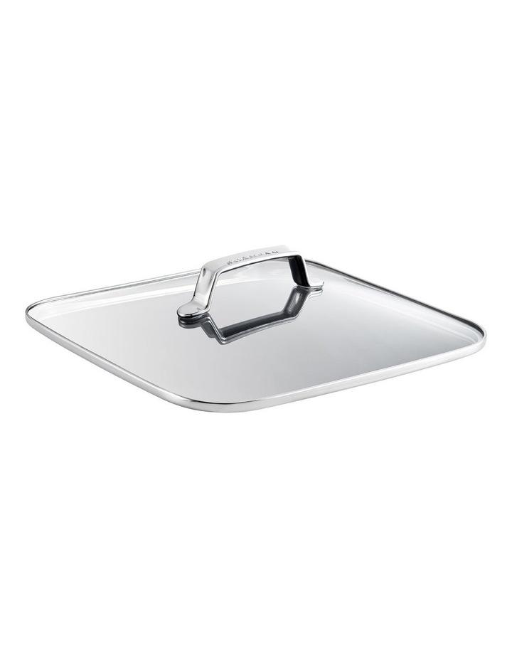 TechnIQ 32x32cm Roaster Tempered Glass Lid image 1