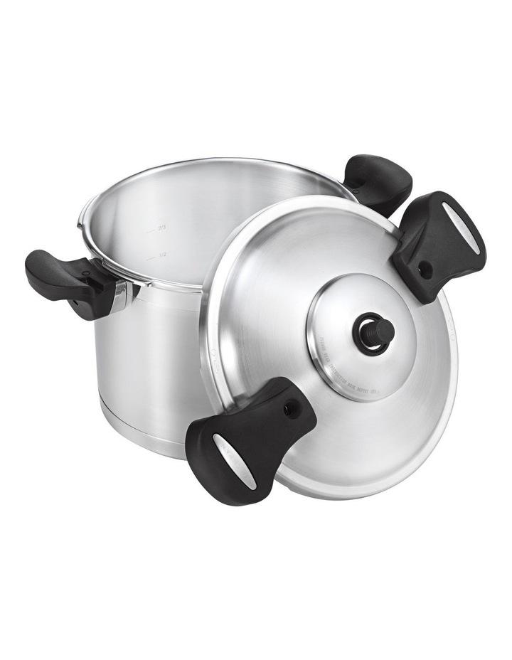 22cm/6 Litre Pressure Cooker with Side Handles image 1