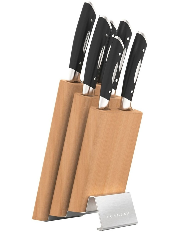 Classic 7Pc Step Knife Block Set image 1