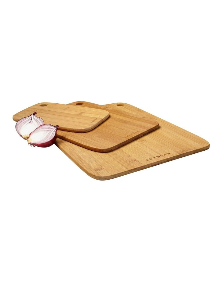 3 Piece Bamboo Board  Set image 1