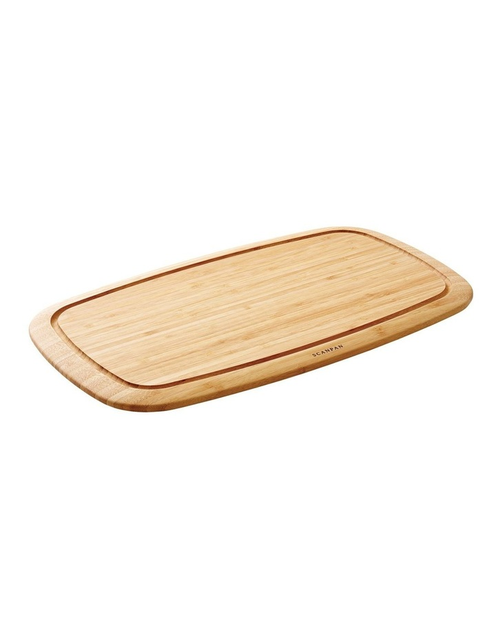 Classic 50x30x1.8cm Bamboo Carving Board image 1