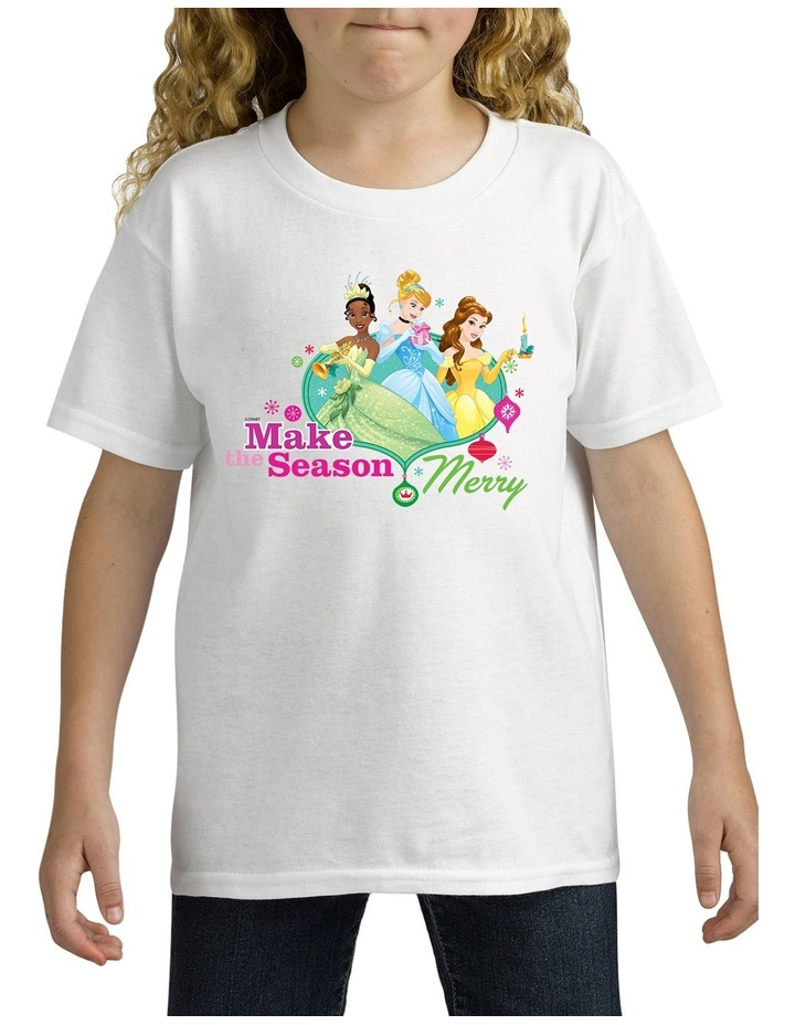 Personalised Disney Kids Princess T-Shirt image 2
