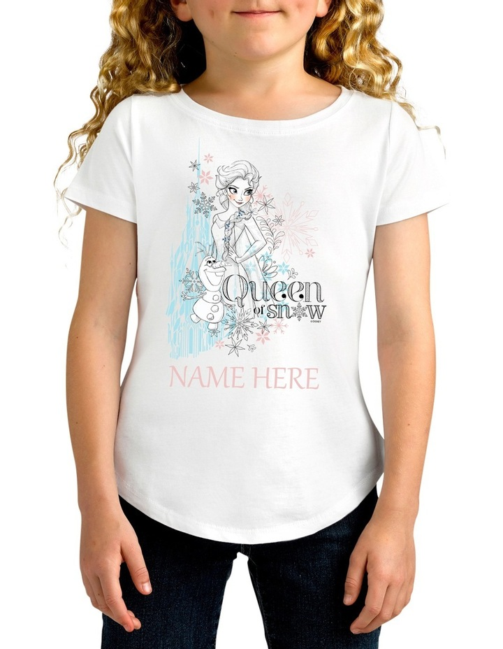 Disney Girls Queen of Snow Tee image 1