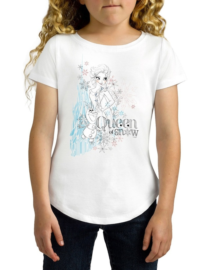 Disney Girls Queen of Snow Tee image 2