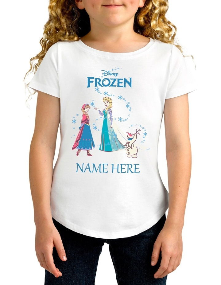 Disney Girls Frozen Tee image 1