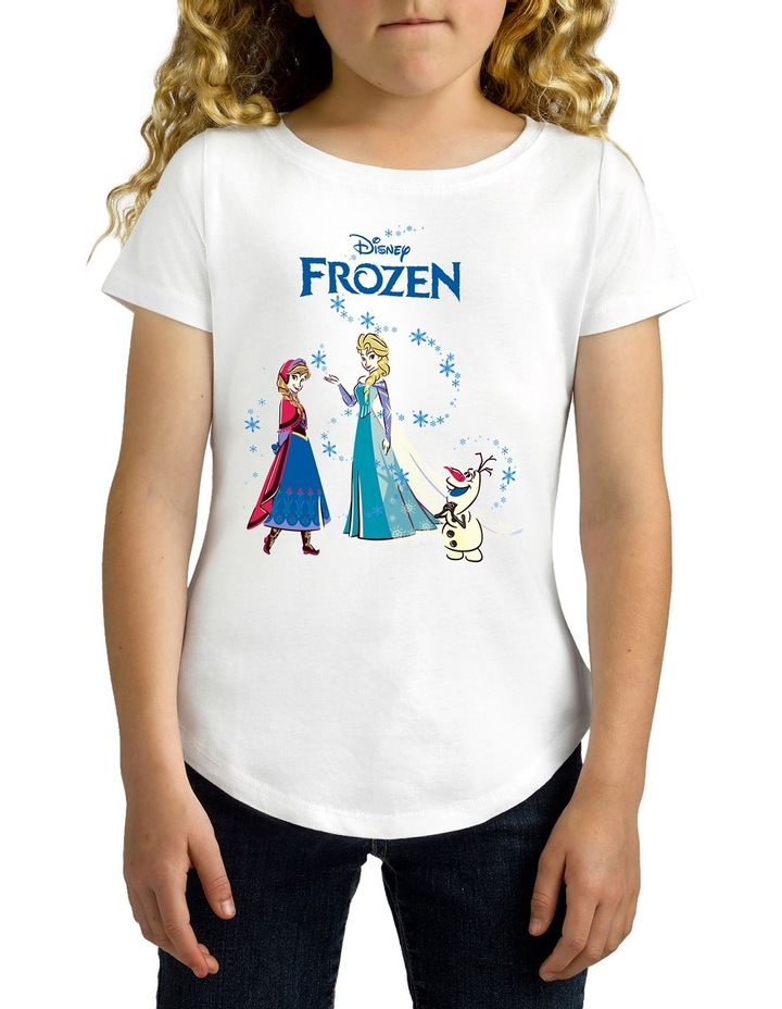 Disney Girls Frozen Tee image 2