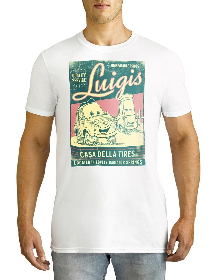 Disney Men's Cars Luigi's Tee image 2