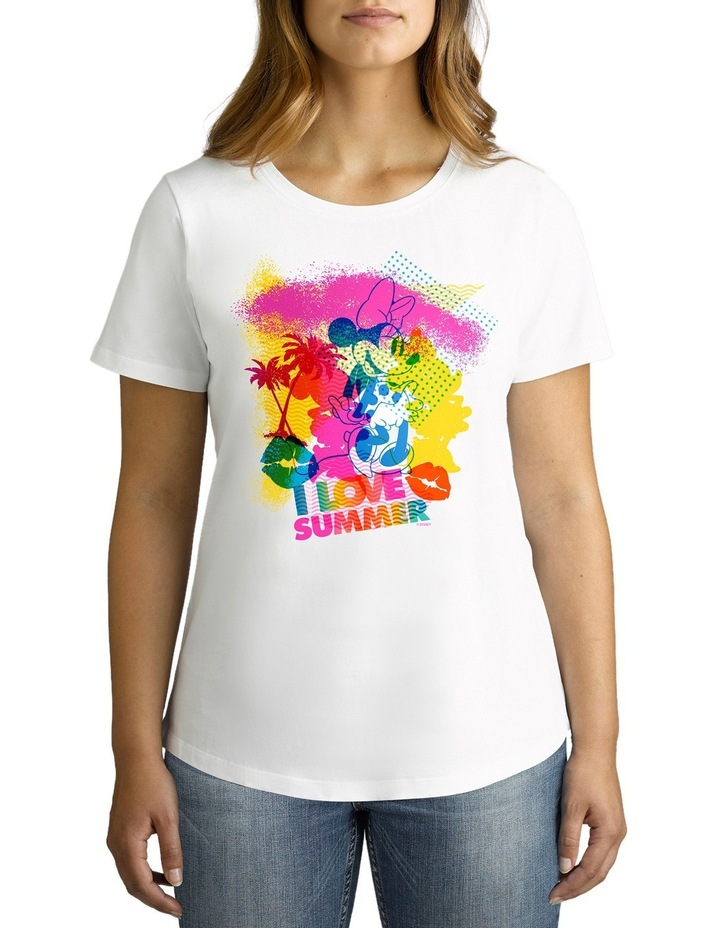 Disney Women's I Love Summer Tee image 1