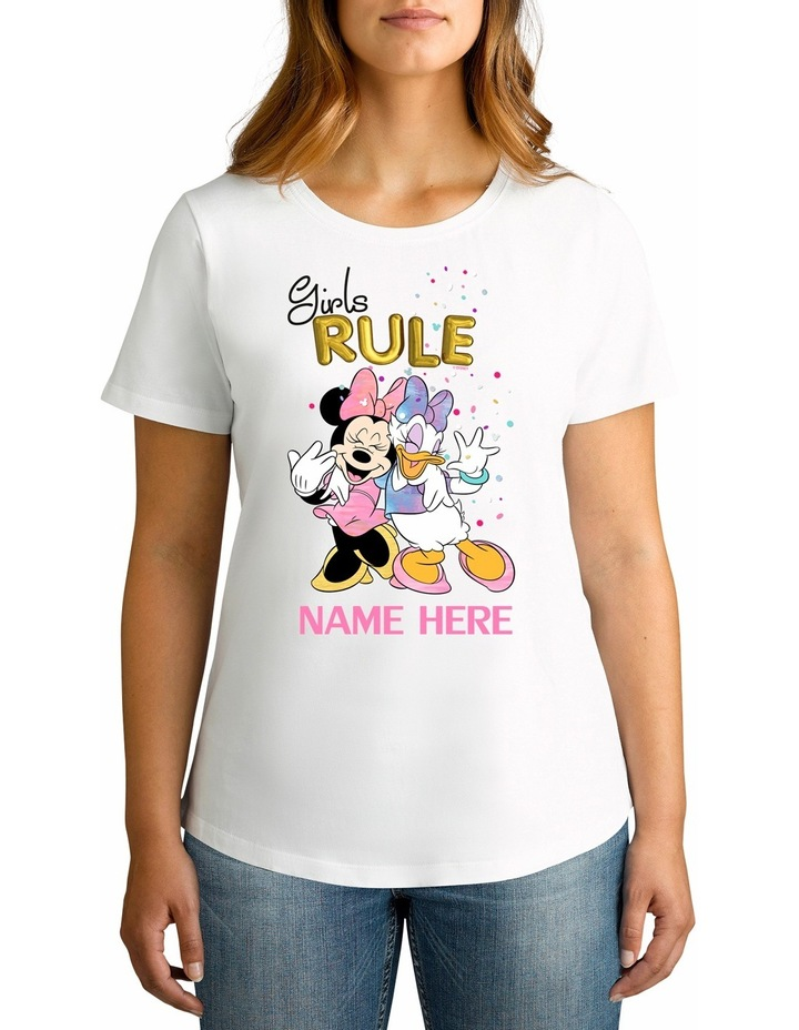 Disney Women's Girls Rule Tee image 1