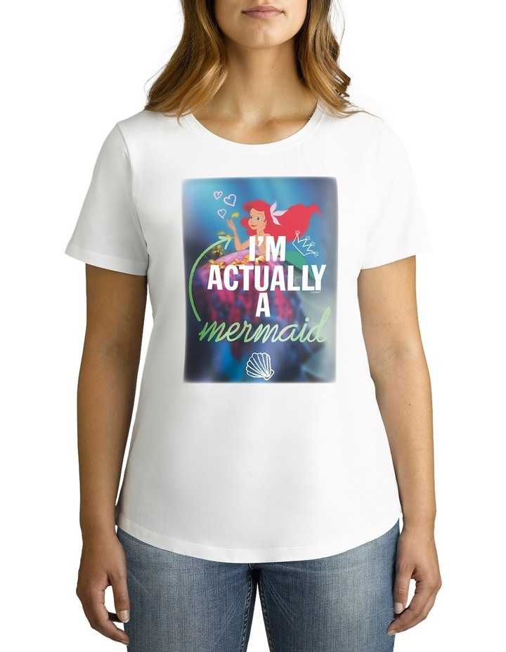 Disney Women's A Mermaid Tee image 2