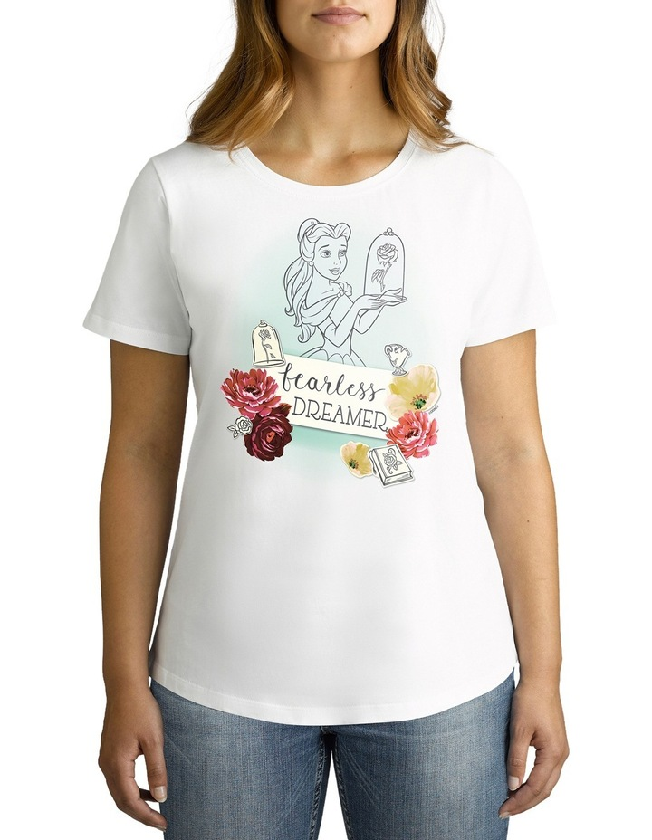 Disney Women's Fearless Dreamer Tee image 2