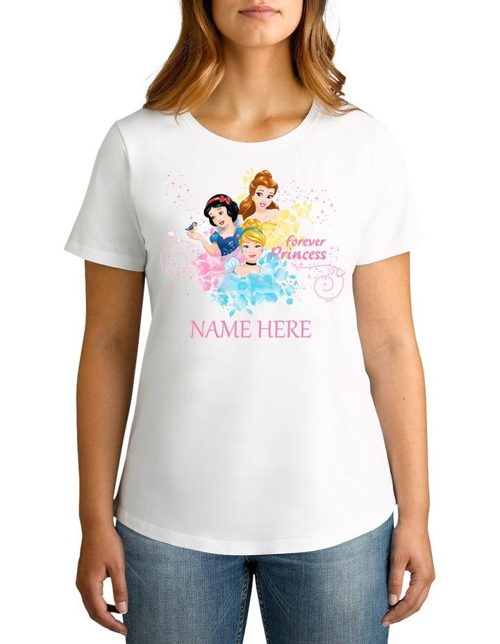 Disney Women's Forever Princess Tee image 1