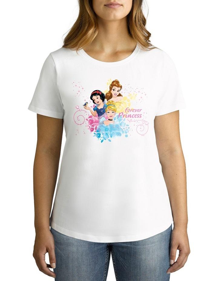 Disney Women's Forever Princess Tee image 2