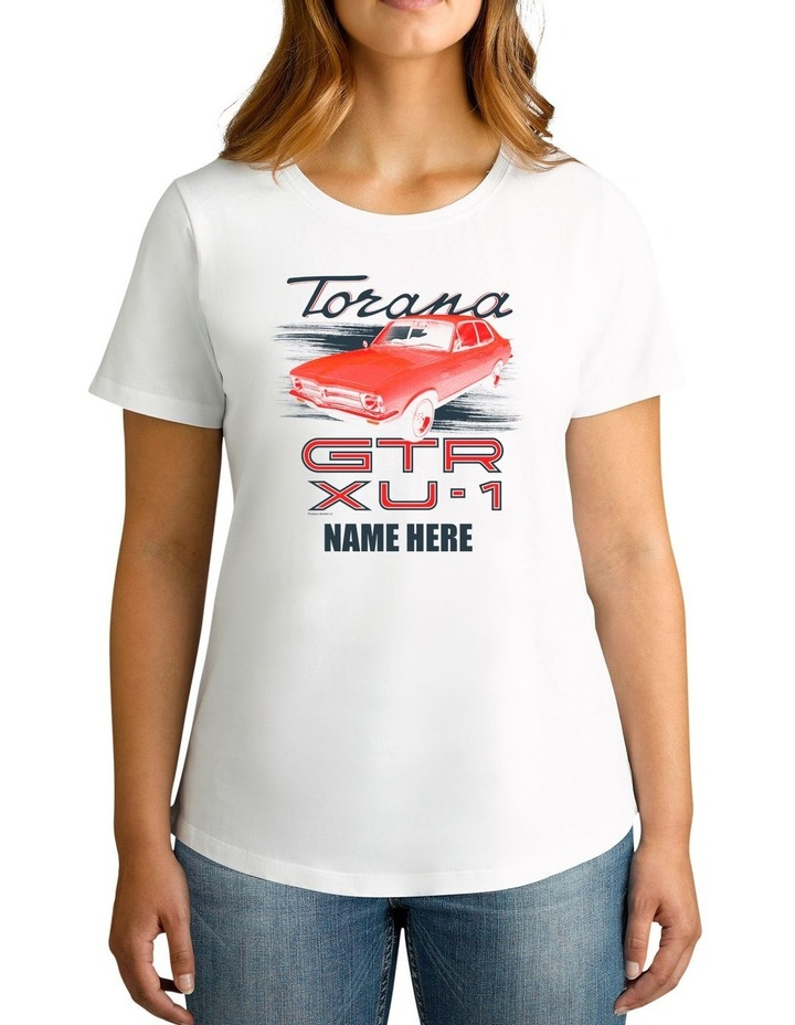 Twidla Women's Holden Torana Personalised Cotton T-Shirt image 1