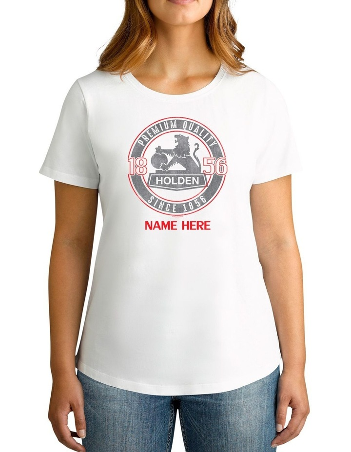 Women's Holden Since 1856 Personalised Cotton T-Shirt image 1