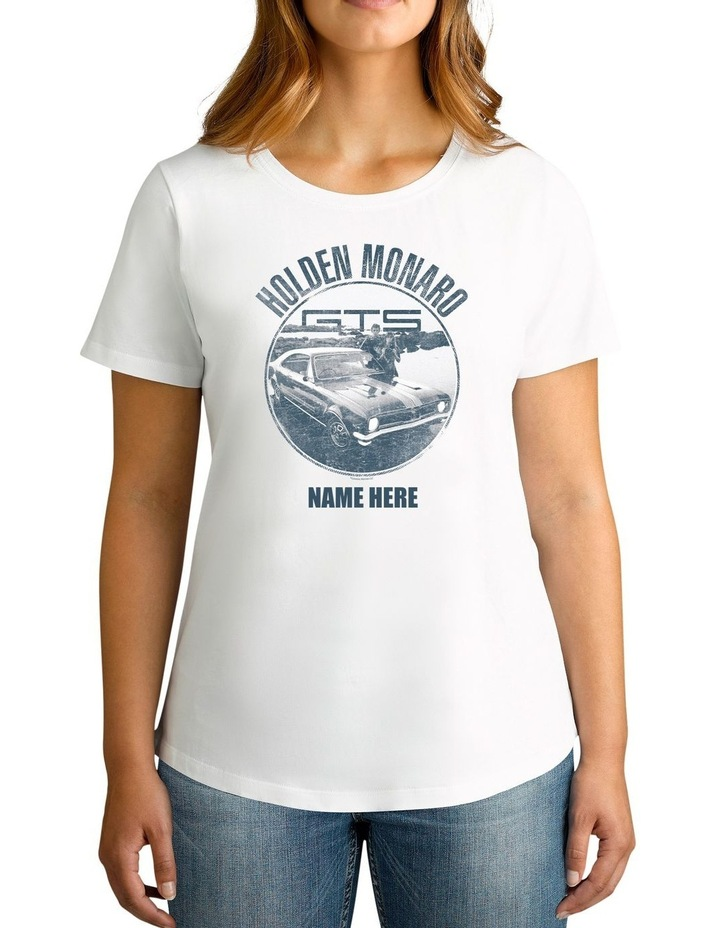 Women's Holden Monaro Personalised Cotton T-Shirt image 1