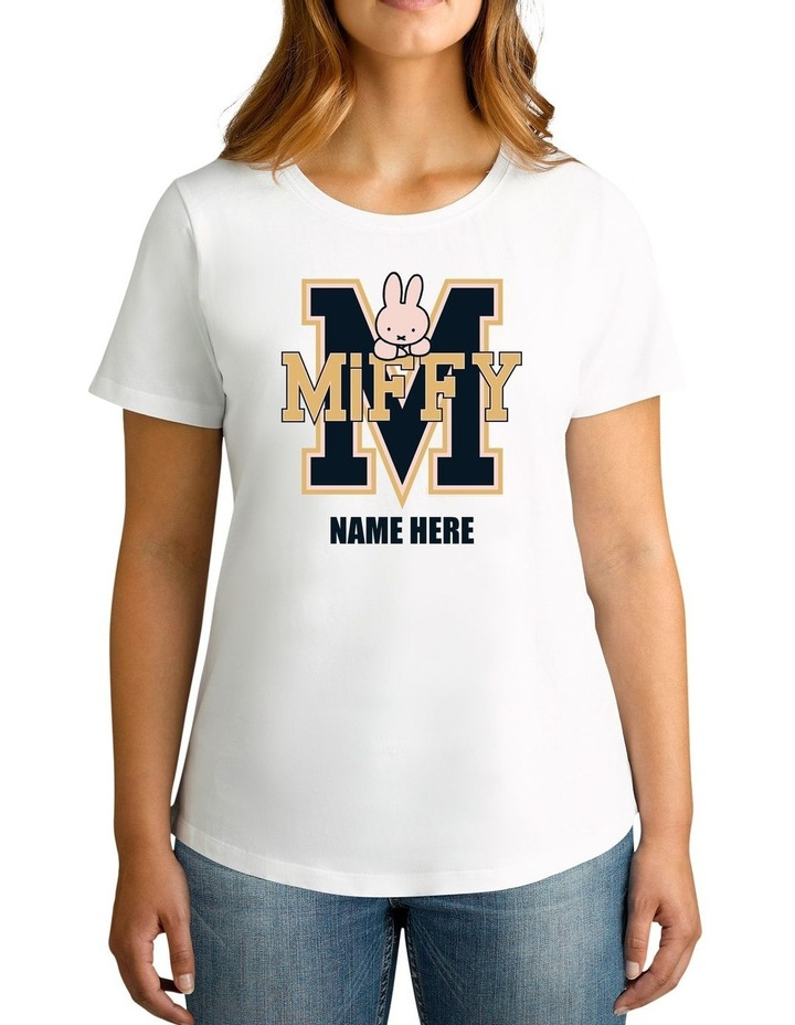 Women's Miffy Personalised Cotton T-Shirt image 1