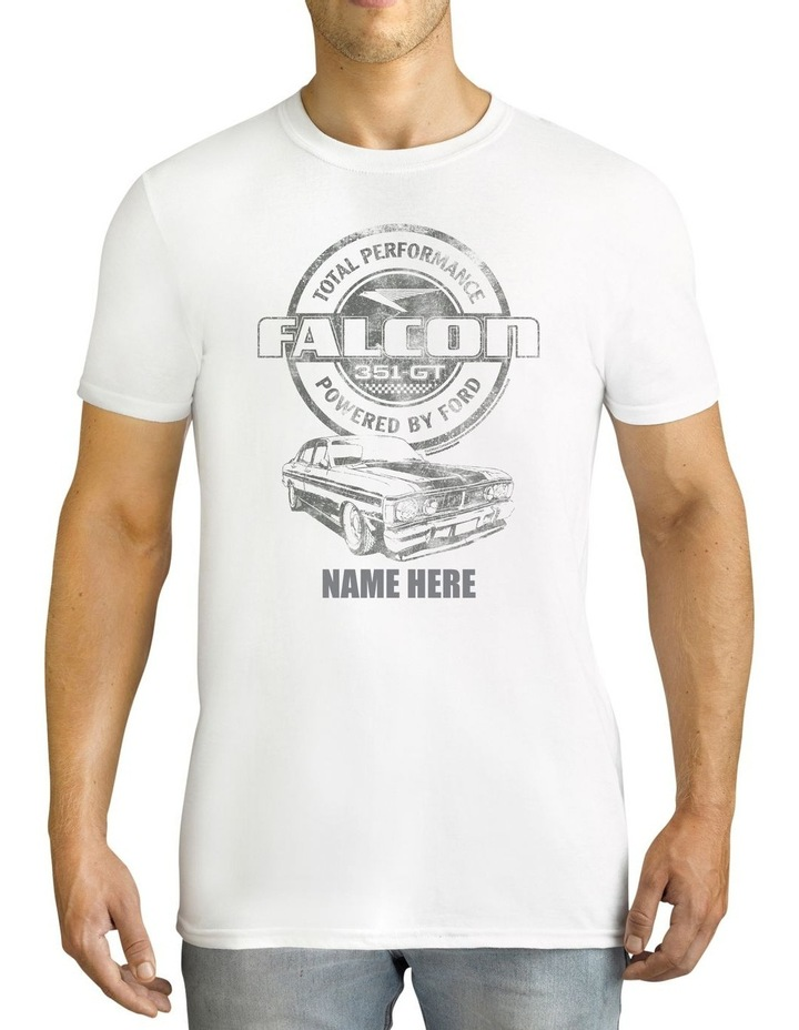 Men's Ford Falcon 351 GT Personalised Cotton T-Shirt image 1