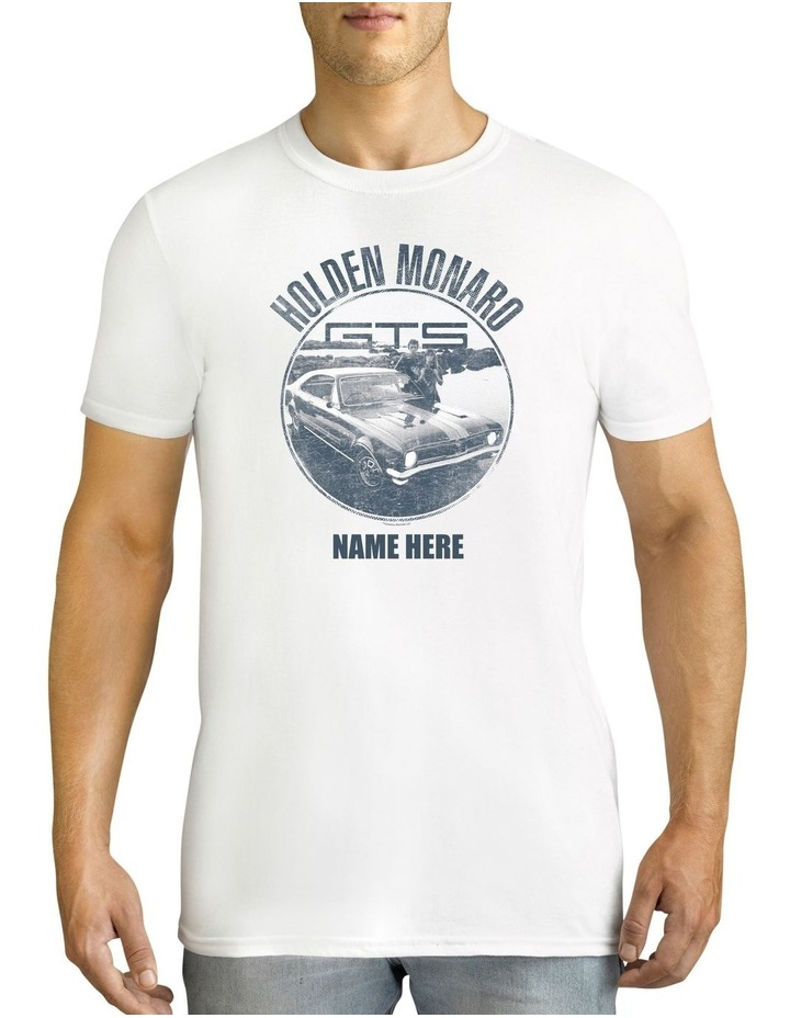 Men's Holden Monaro Personalised Cotton T-Shirt image 1
