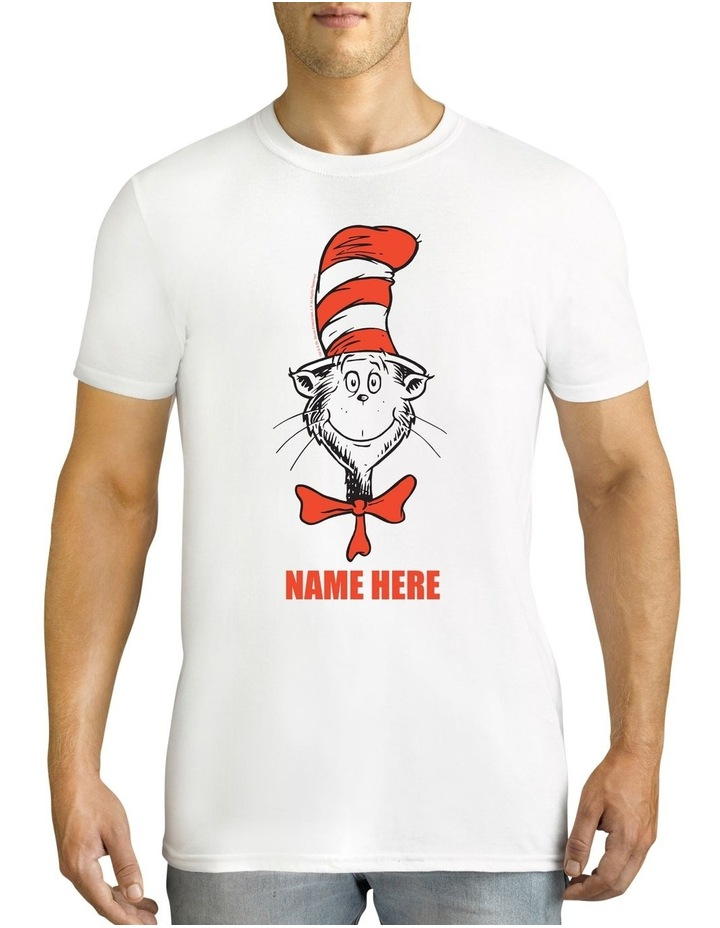 Men's Dr.Seuss Personalised Cotton T-Shirt image 1