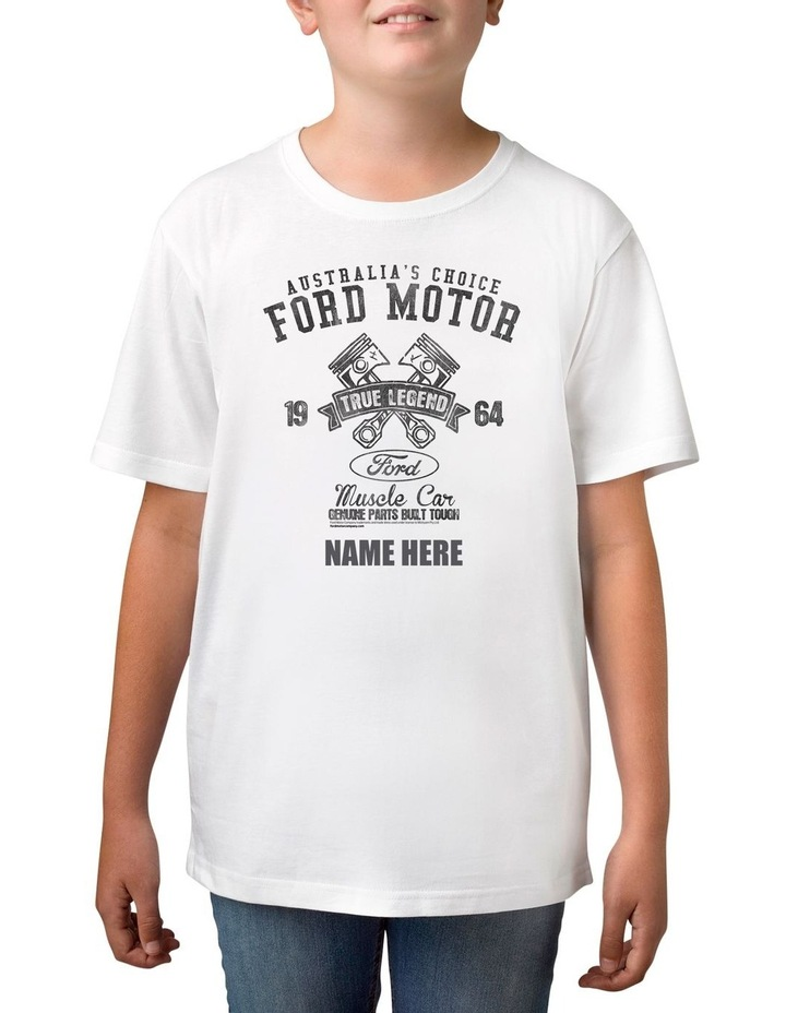Boy's Ford 1925 True Legend Personalised Cotton T-Shirt image 1