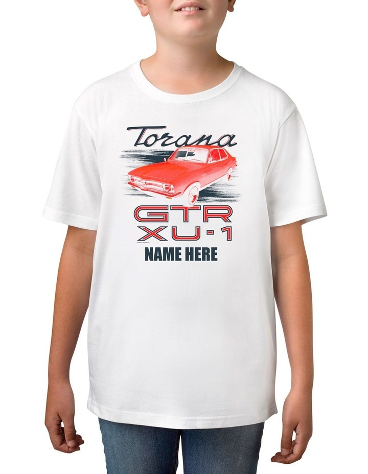 Boy's Holden Torana Personalised Cotton T-Shirt image 1